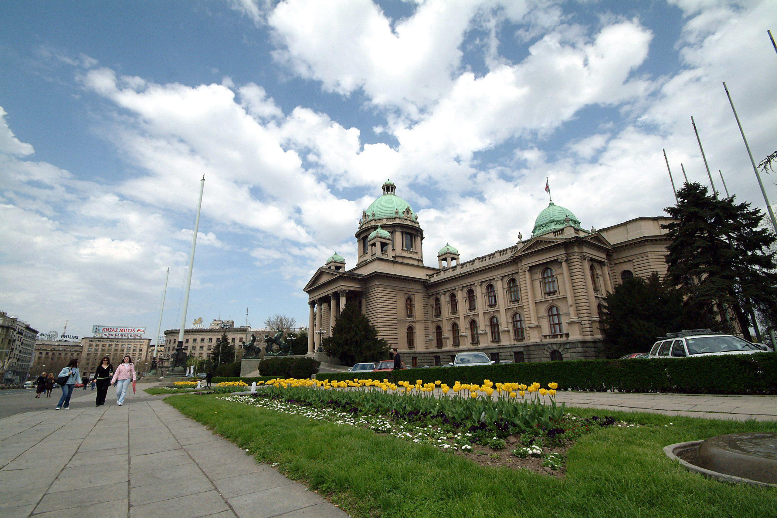 Vanredna sednica parlamenta zakazana za 26. januar 1