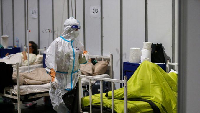 Koordinator: U beogradskoj Areni 290 kovid pacijenata, klinička slika teška 1