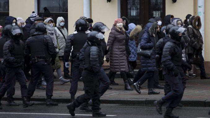 Stotine penzionera ponovo demonstrirale u Minsku protiv Lukašenka 2