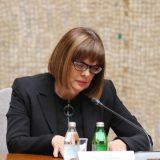 Gojković zatražila mišljenja ministarstava na predlog Akcionog plana za primenu Medijske strategije 7