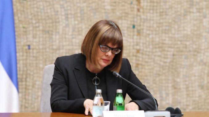 Gojković zatražila mišljenja ministarstava na predlog Akcionog plana za primenu Medijske strategije 4