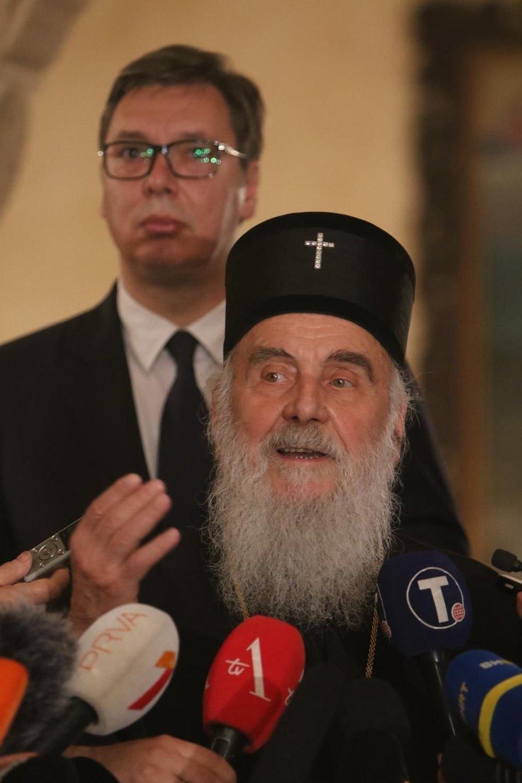 Vučić i patrijarh