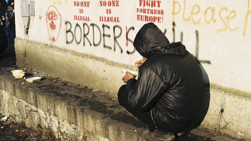 migrant u beogradu 2017