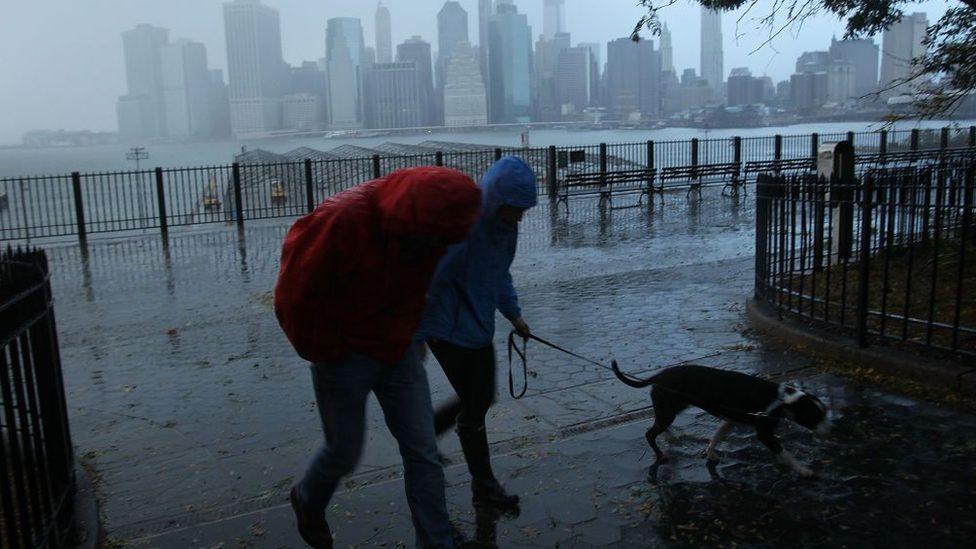 Uragan Sendi u Njujorku