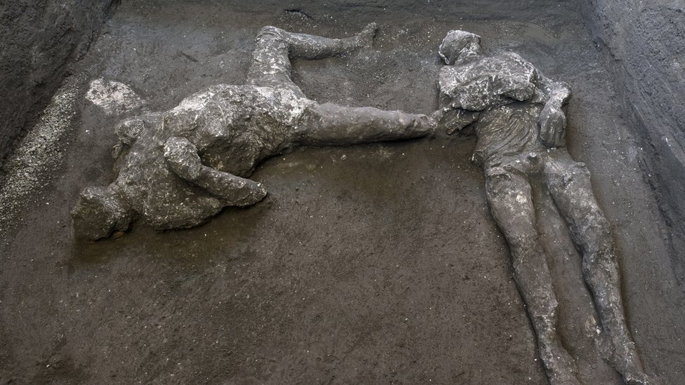 Two bodies discovered in Pompeii, Italy
