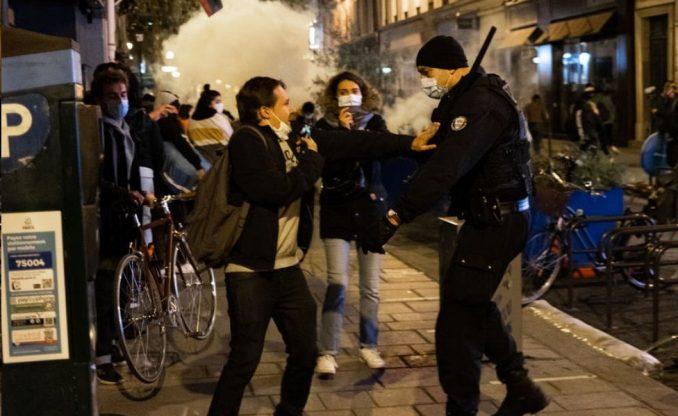 "Francuska: Pariska policija u ""šokantnom"" sukobu u migrantskom kampu 4"