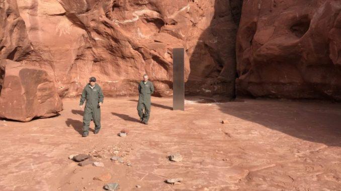 Amerika i priroda: Misteroizni metalni objekat pronađen u pustinji američke države Juta 5