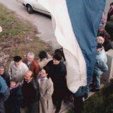 Simbol ratnih razaranja u bivšoj Jugoslaviji 1