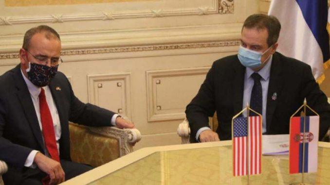 Dačić i Godfri: Ishod izbora u SAD neće uticati na dobre bilateralne odnose 1