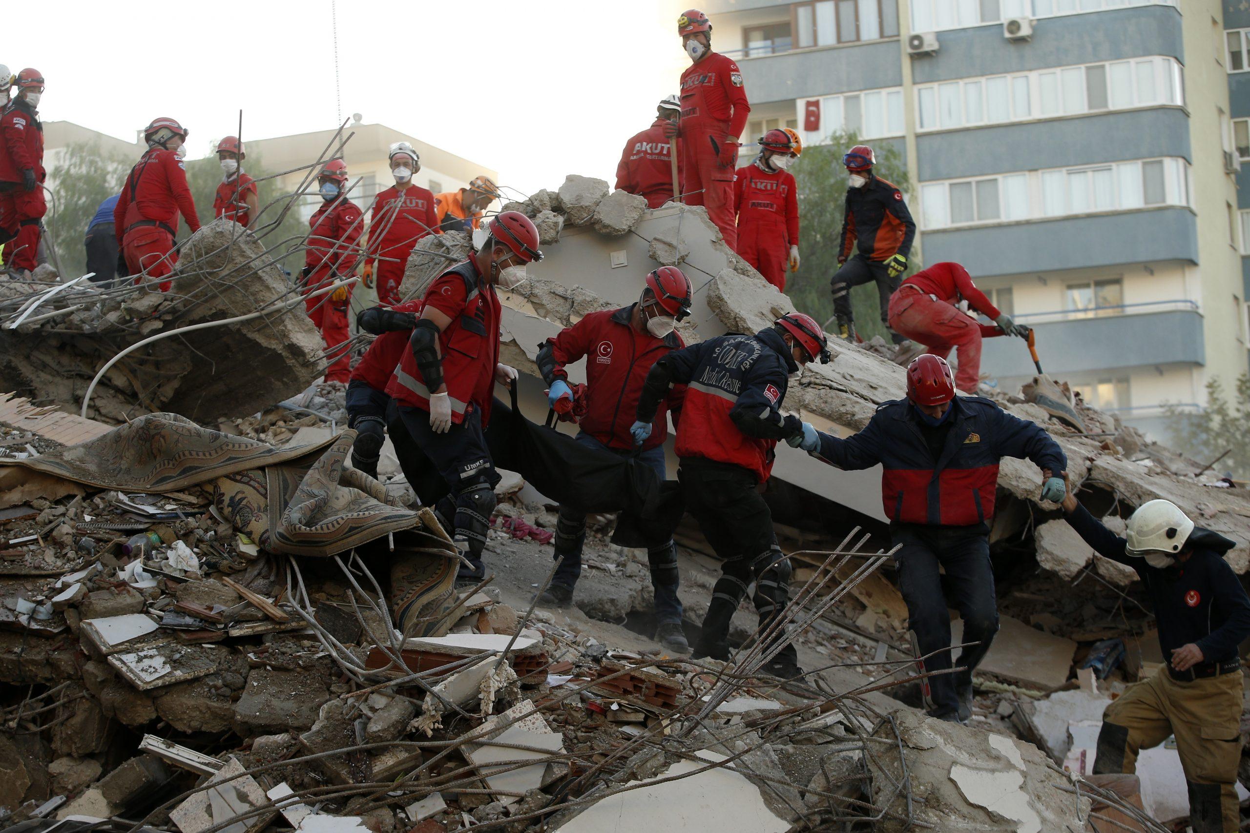 Novi bilans: U zemljotresu u Turskoj 66 osoba poginulo 1