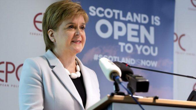 Škotska premijerka najavljuje referendum o nezavisnosti za sledeću godinu 4