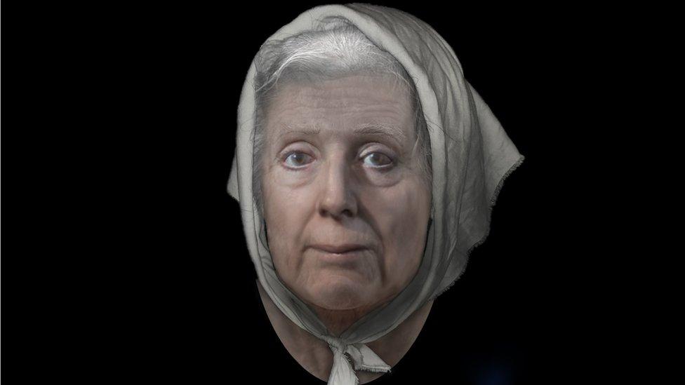 Lilias Adie reconstruction