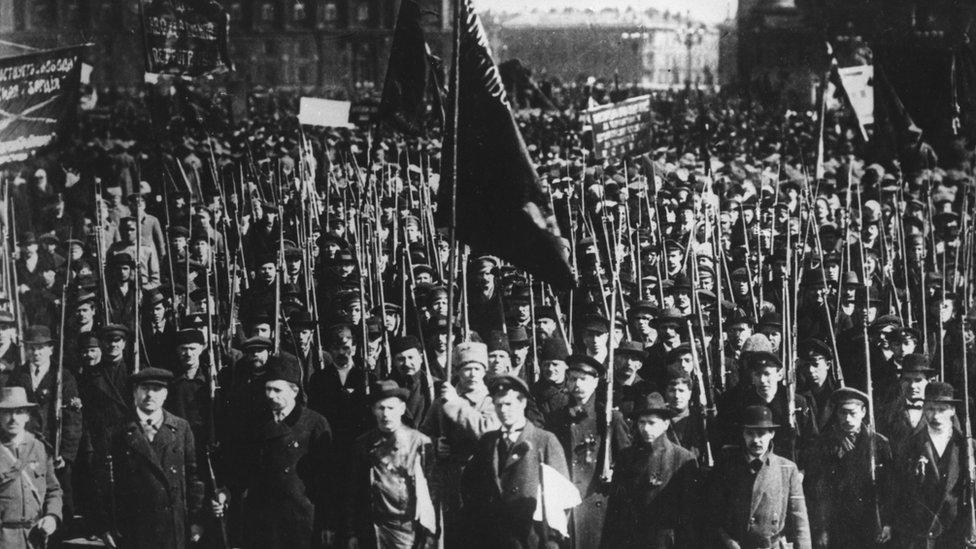 Protest radnika u Rusiji 1917.