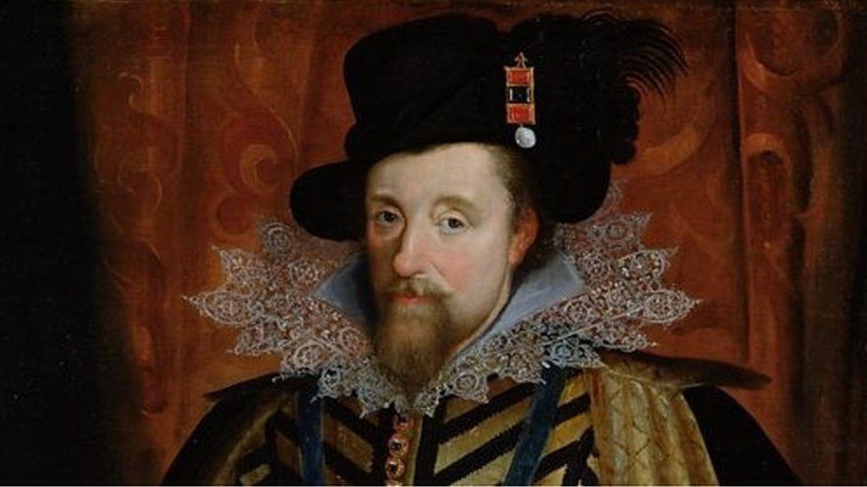 King James VI of Scotland, who went on to be the James I of England