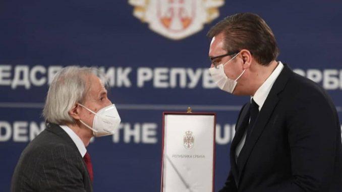 Vučić uručio odlikovanja i Pelemišu, Tiodoroviću, Stevanoviću 1