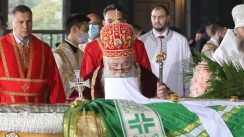 Patrijarh Irinej sahranjen u hramu Svetog Save (FOTO) 22