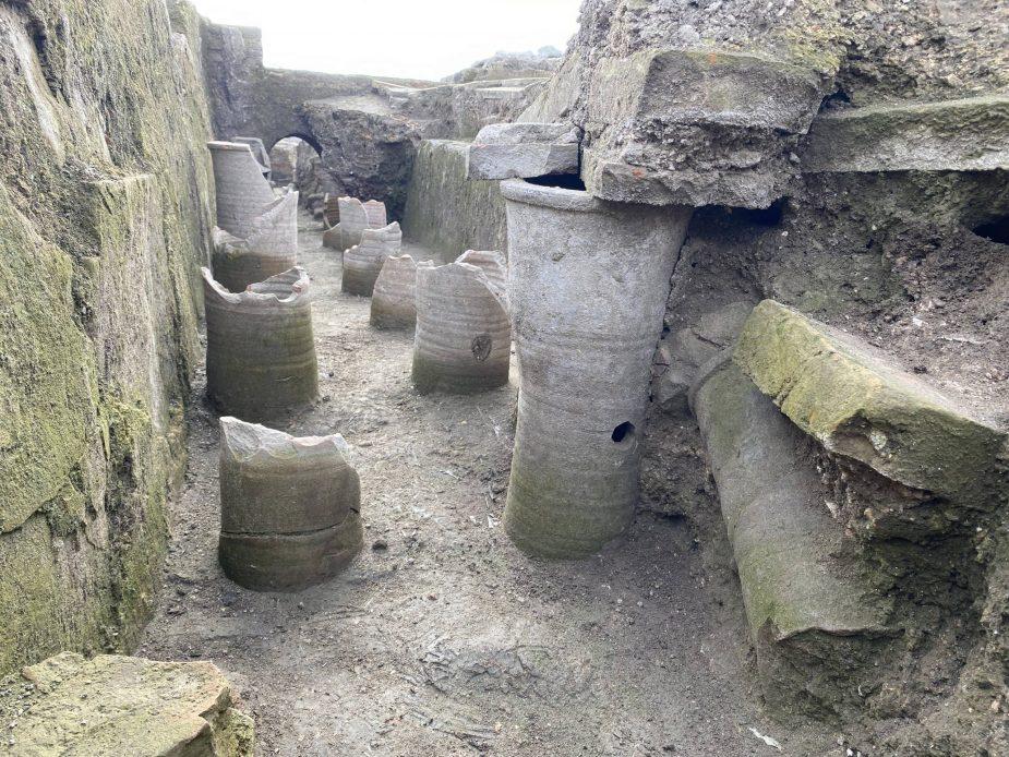 Novo otkriće u Viminacijumu, zgrada komande VII Klaudijeve legije 2