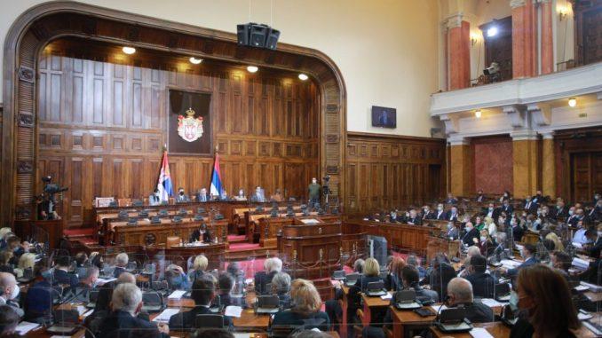 Izglasavanjem zaključka o Izveštaju EK završeno jesenje zasedanje Skupštine Srbije 2