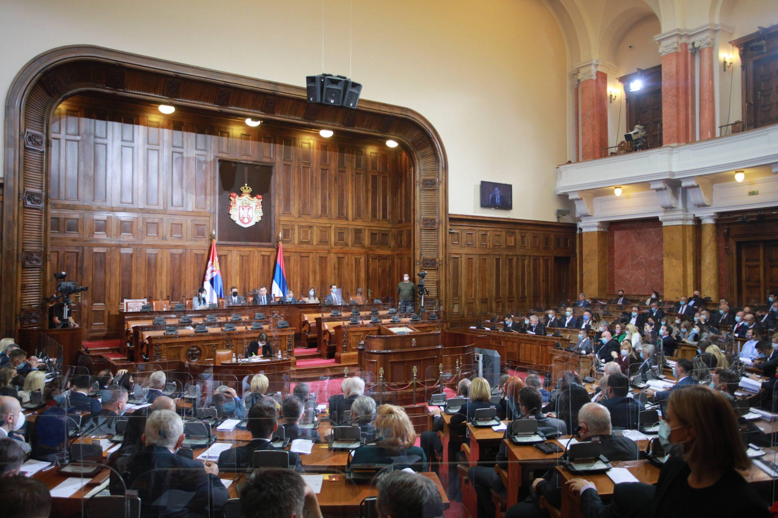 Poslanici usvojili sve predložene zakone 1