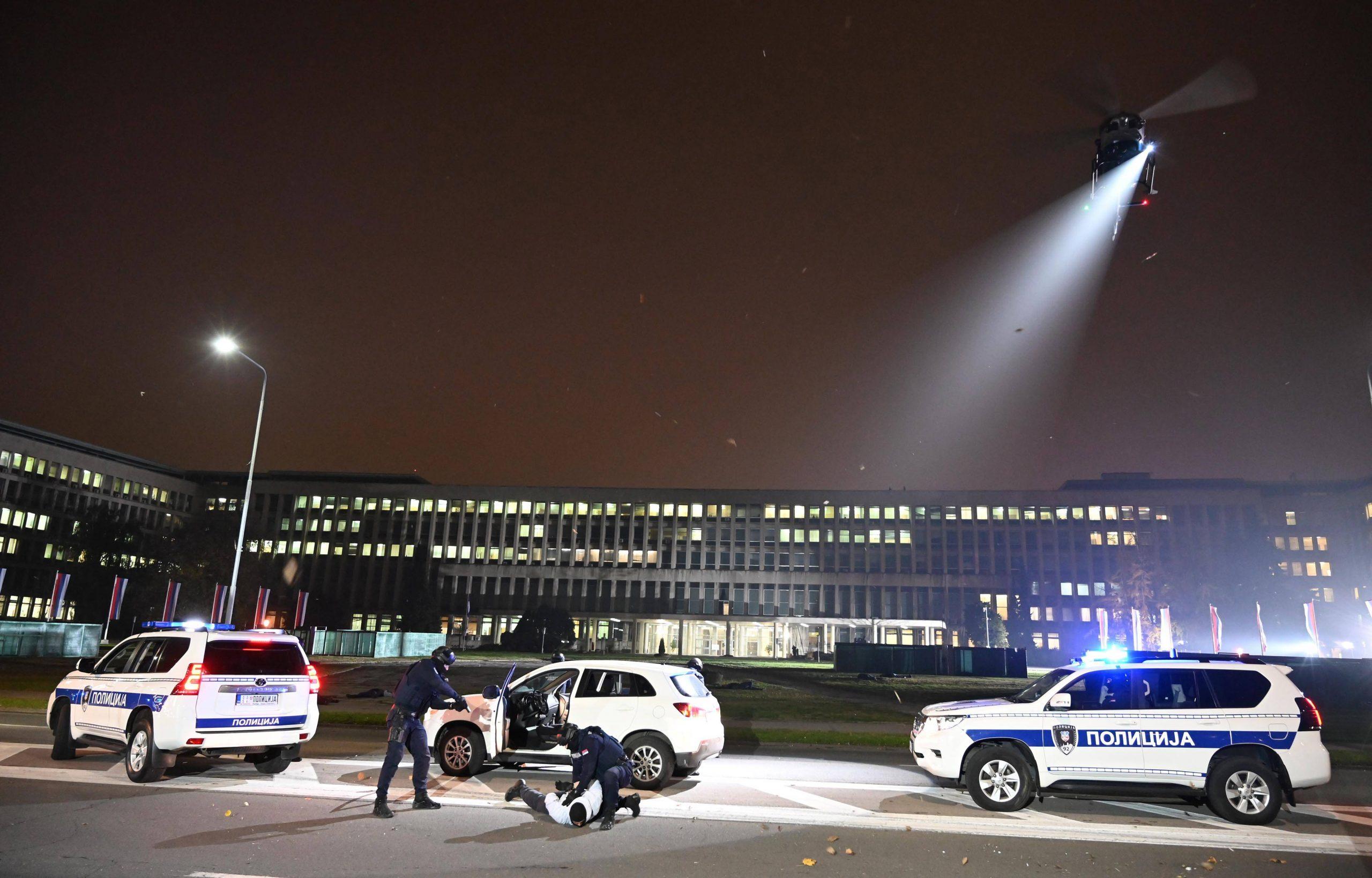 """Policija završila sa pripremama za antiterorističku vežbu """"Obruč 2020"""" (FOTO) 2"""