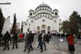 Patrijarh Irinej sahranjen u hramu Svetog Save (FOTO) 4