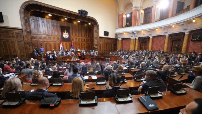 Osuda govora mržnje prema televizijama N1 i Nova S u Skupštini Srbije 1