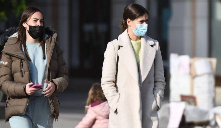 Još 4.995 novoobolelih, 56 osoba preminulo, 331 na respiratorima 1