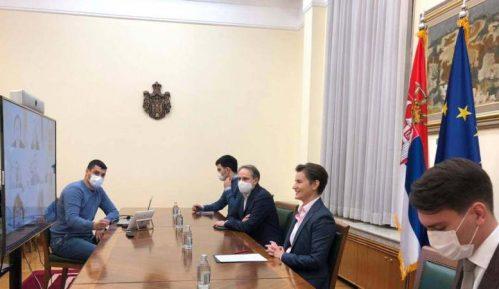 Treći sastanak Brnabić sa guvernerom Japanske banke 2