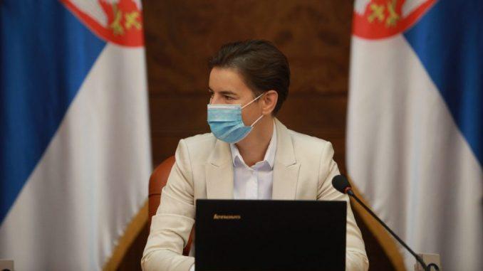 Brnabić: Tematske sednice vlade minimum jednom u tri meseca 2