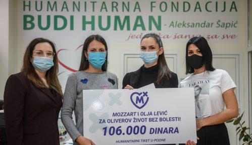 """Da Oliver dobije najvažniju bitku! Olja Lević i Mozzart donirali sredstva fondaciji """"Budi human"""" 12"""