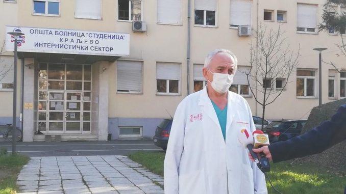 """Više od stotinu zaposlenih iz Opšte bolnice u Kraljevu """"van stroja"""" 4"""