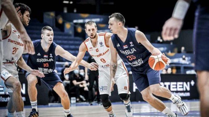 Švajcarska pobedila Srbiju u košarci (VIDEO) 4