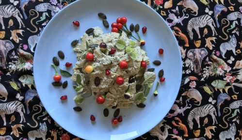 Vege recept: Besan pasta 8