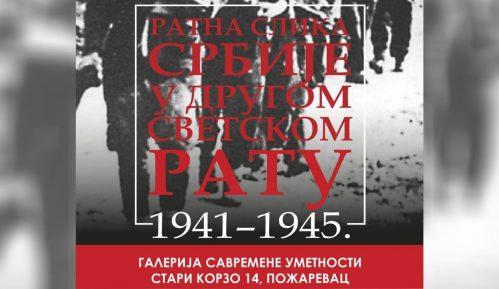 Izložba Ratna slika Srbije u Drugom svetskom ratu u Požarevcu 12