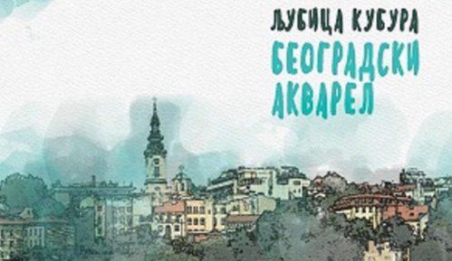 """Knjiga """"Beogradski akvarel"""" Ljubice Kubure - priče koje kao mozaik slažu kockice Beograda 26"""