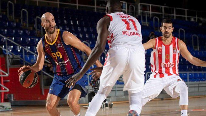 Košarkaši Zvezde izgubili od Barselone u Evroligi 1