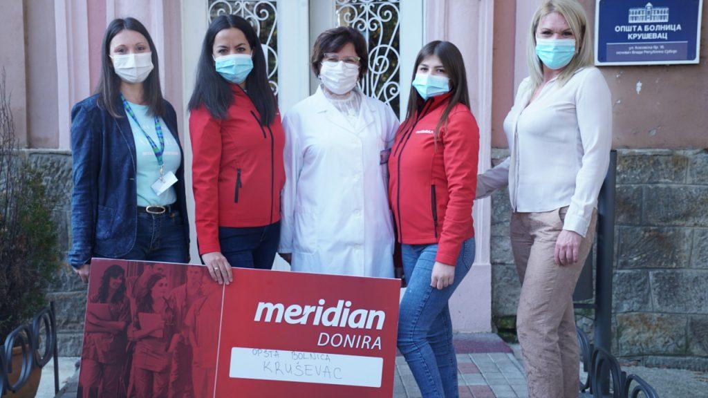 Meridian obezbedio opremu za Opštu bolnicu Kruševac 2