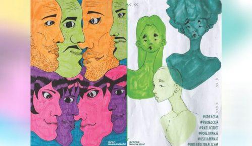 "Zrenjaninski gimnazijalci oslikali mural ""Interkulturalnost"" na zidu škole 9"