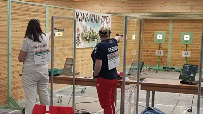Uspešan start Zorane Arunović na Otvorenom prvenstvu Mađarske 3