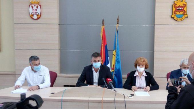 Zavod za javno zdravlje predložio vanrednu situaciju u Pirotu 1