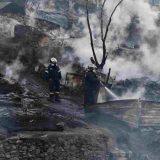 Požar u izbegličkom kampu na Samosu 3