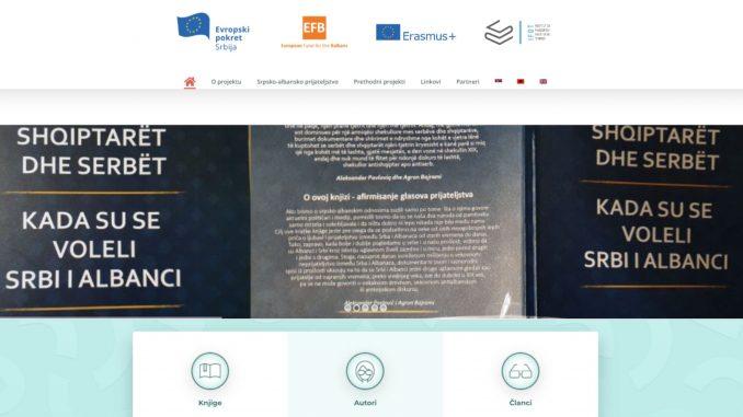 Evropski pokret u Srbiji predstavio sajt o srpsko-albanskom prijateljstvu 1