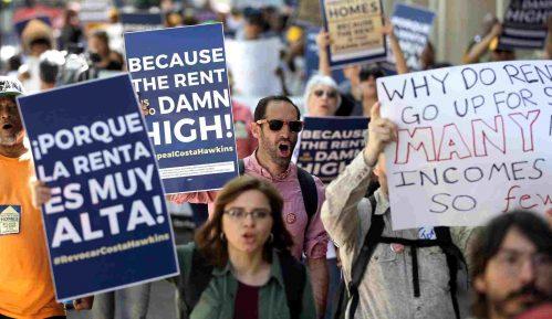 Protesti u blizini Bele kuće, bez većih nemira 9