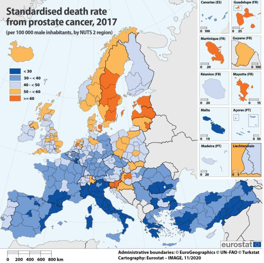 U Letoniji najveća stopa smrtnosti od karcinoma prostate 2