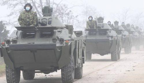 Vojska Srbije u Nišu predstavila tenkove T-72 B1 MS iz ruske donacije 6