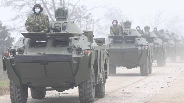 Vojska Srbije u Nišu predstavila tenkove T-72 B1 MS iz ruske donacije 3