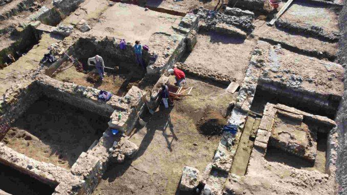 Novo otkriće u Viminacijumu, zgrada komande VII Klaudijeve legije 1