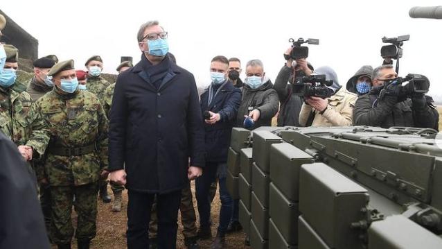 Vučić: Danas će biti težak dan po broju preminulih 2
