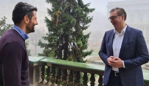 Vučić i Šapić razgovarali danas na terasi Predsedništva 5