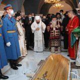Patrijarh Irinej sahranjen u hramu Svetog Save (FOTO) 13